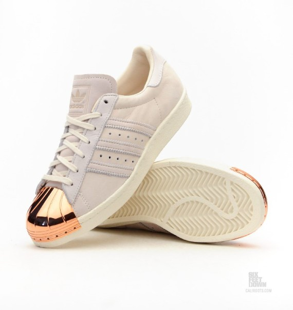 adidas original superstar 80s metal toe rose gold
