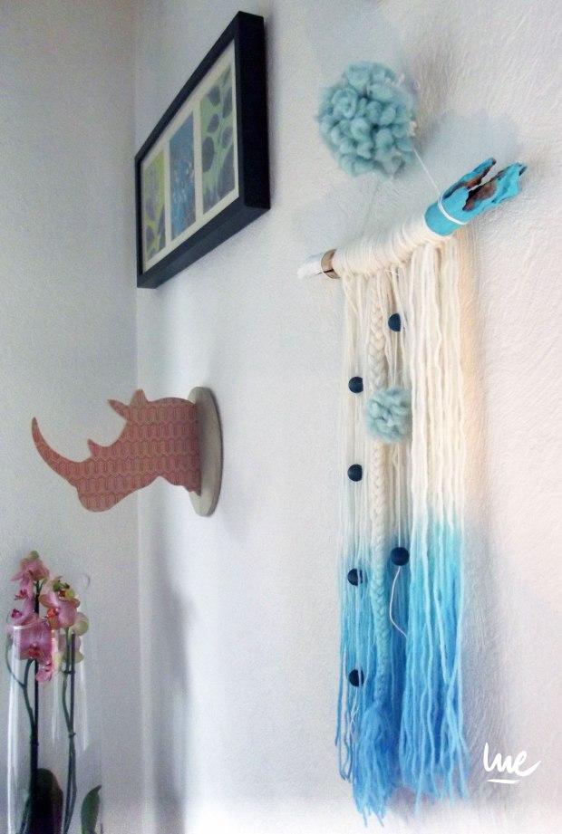 #tissage #wall #artisanat #creation #diy #wool #tendance #fashion #frange #diy #frenchtoastbylue #lue #lucilelejeune