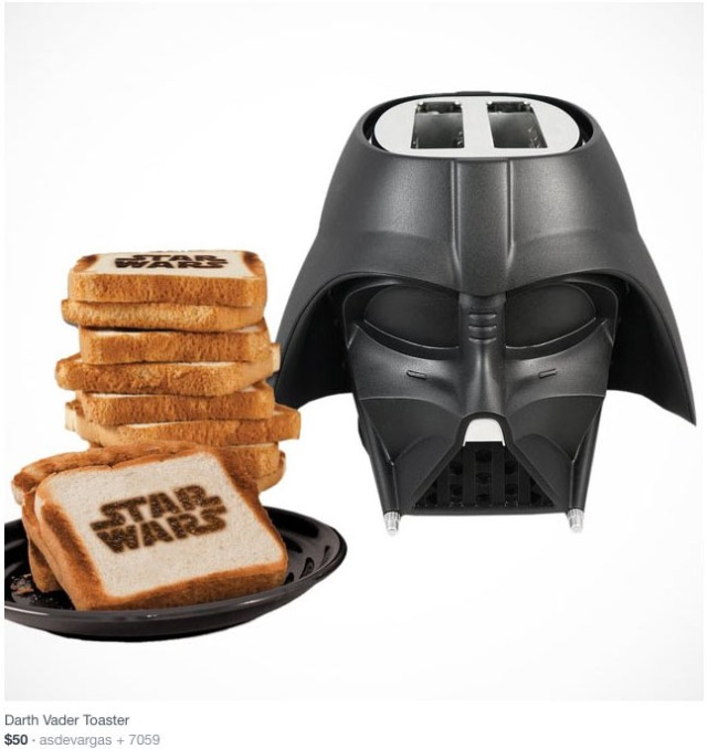 #ggeek #geekalert #starswars #darkvador #vador #dark #toast ##fancy #design #card #gift #design #cool #stuff #mix #color #coolmignon #addict #tendance #geekalert  #blog #lue