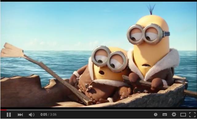 #minions #movie #trailer #animation #dessinanimé #cartoon #jaune #yellow #funny #awesome #oneinaminion