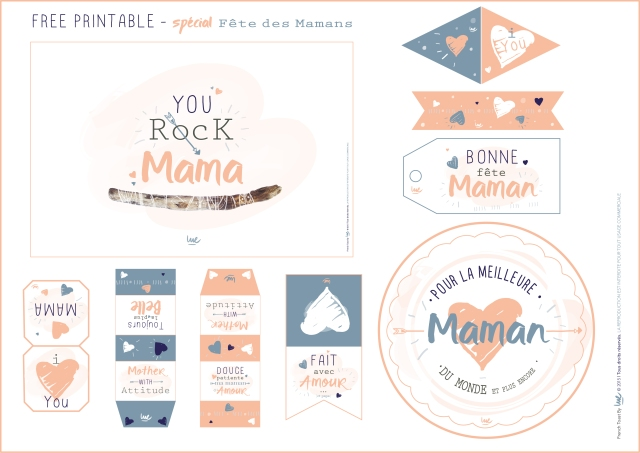 #freeprintable #free #mum #maman #mother #mama #card #poster #stickers #toppers #flag #sugar #tea #thé #étiquette #design #graphicdesign #designgraphique #type #typography #typographie #color #pink #heart #draw #illustrator #wood