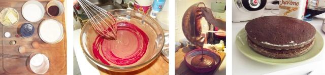 #letscook #pastery #genoise #layercake #preparation #sugar #sugaraddict #cacao #redvelvet