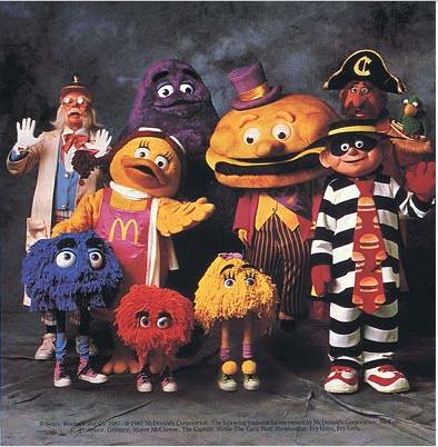 #cetaitmieuxavant #oldtoys #happymeal #lastardeshappymeal #90's #nineties #!à's #france #america #hamburger #personnage #culte #monenfance #childhood a#fryguy #birdy #voleur #bonhommeviolet #captain #mcdo #mcdonald