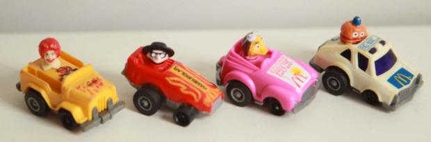 #fryguy #happymeal #mcdo #mcdonald #usa #france #cars #toys #vintage #oldtoys