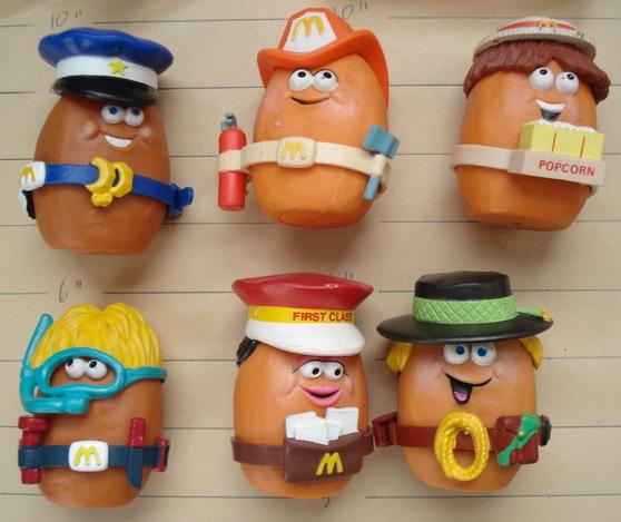 #nuggets #fryguy #happymeal #mcdo #mcdonald #usa #france #toys #vintage #oldtoys