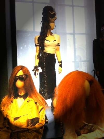 #amy #amywinehouse #muses #glitters #gold #goldie #jpg #jeanpaul gaultier #nanamouskouri #giels #fashion #show #exhibition #paris #france #fashion #design #mode